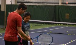 Private tennis lesson featured image