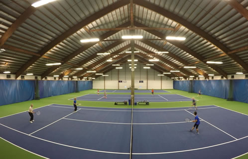 TTC indoor courts