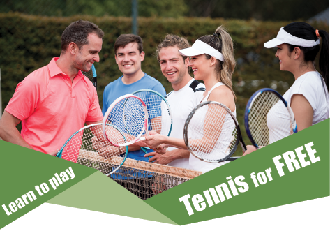 Learn tennis for free